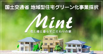国土交通省 地域型住宅グリーン化事業採択 MINT